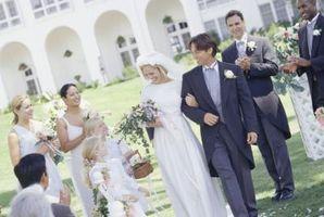 Comment faire de mariage allées Arcs