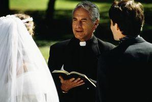 Qu'est-ce qui se passera si Quelqu'un objets lors d'une cérémonie de mariage?