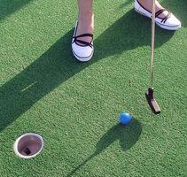 Comment une Parole Invitation Mini Golf