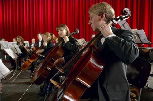 Comment faire une première position des doigts sur un violoncelle